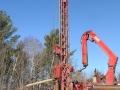 Drilling commences.