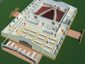 Interior plan for Conference Center.