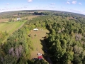 Aerial photo of ISHA Hill site.
