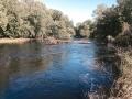 The Chippewa River borders the ISHA property.