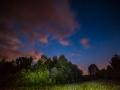 Evening thunderstorm on ISHA Hill site, June 2015